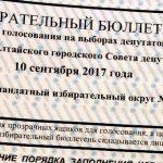 К 15:00 в Горно-Алтайске проголосовали почти 22% избирателей