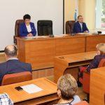 Избранным депутатам горсовета вручили мандаты