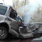 Страшная авария произошла на Чуйском тракте