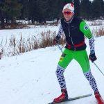 Мастер спорта Иван Гуляев тренируется на Семинском перевале
