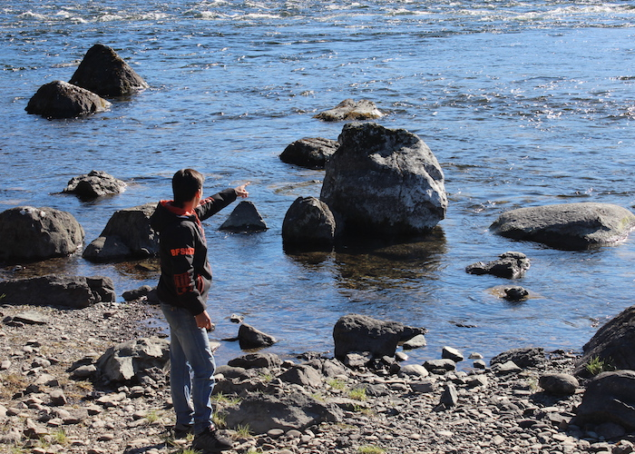 Девятиклассник из Иогача спас тонущего в реке мужчину
