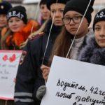 Акция, посвященная жертвам ДТП, прошла в Горно-Алтайске