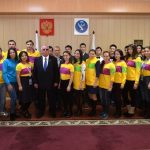 Александр Бердников встретился с участниками Всемирного фестиваля молодежи и студентов