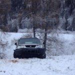 Honda CR-V улетела в кювет, две женщины оказались в больнице