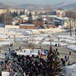 Сквер семьи открыли в Горно-Алтайске