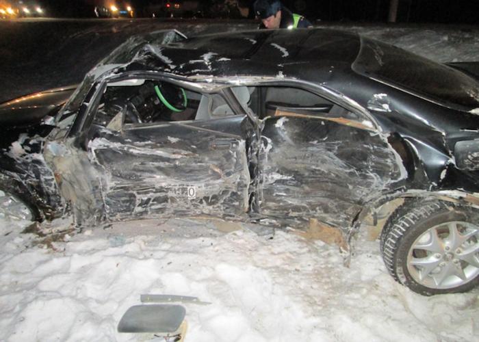 ДТП около Черемшанки: четыре человека попали в больницу после столкновения машин