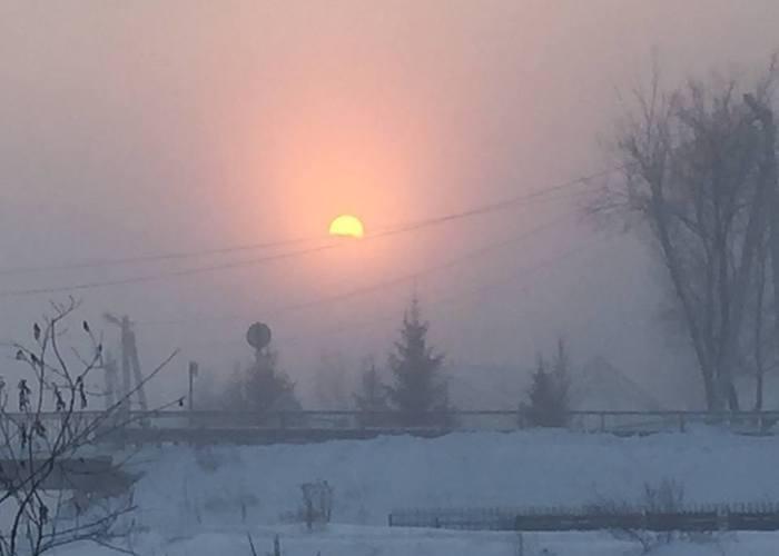 Фотоперекличка: Морозы в Горном Алтае