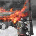 Из-за морозов количество пожаров увеличилось в пять раз