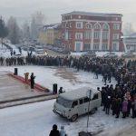 Митинг в честь Чорос-Гуркина прошел в Горно-Алтайске