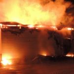 В Чибиле сгорел дом культуры