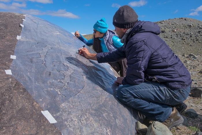 Наскальная романтика: Необычайно крупный петроглиф обнаружили археологи на Алтае