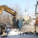 В Горно-Алтайске ликвидирована авария на водопроводе
