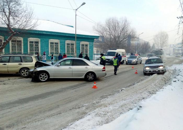 Нетрезвый водитель устроил ДТП в Горно-Алтайске