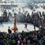 Проводы зимы. В Горно-Алтайске отпраздновали Масленицу