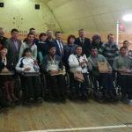 В Акташе прошли соревнования среди инвалидов по настольному теннису