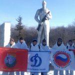 Ребята из Горного Алтая приняли участие в «Ледовом марафоне»