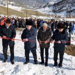 В Шашикмане открылся новый спортзал, а в Купчегене — водопровод