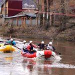 В Горно-Алтайске открыли спортивный водный сезон