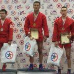 Элбек Куюков стал чемпионом России по борьбе самбо среди студентов