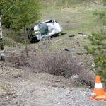 Нетрезвый водитель без прав разбил машину