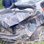 В Шебалинском районе у дороги обнаружена разбившаяся иномарка и погибший водитель