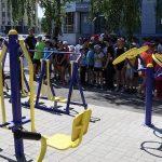 В трех микрорайонах Горно-Алтайска открыли спортплощадки