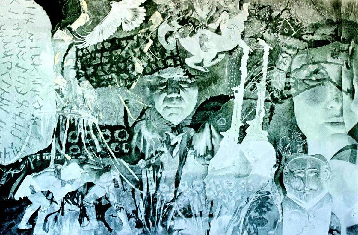 В Берлине открылась персональная выставка Аржана Ютеева