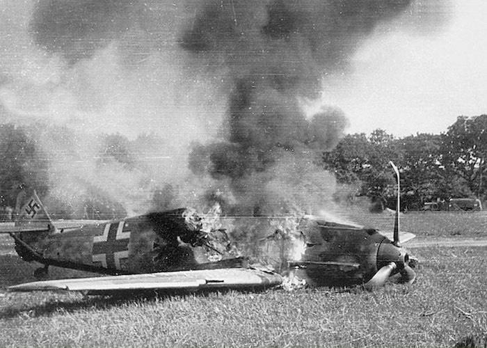 На Курской дуге сбил четыре вражеских самолета