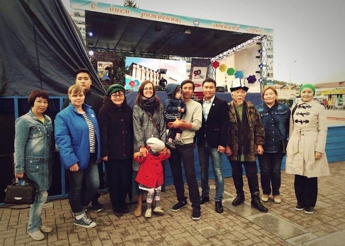 В Горно-Алтайске прошел Фестиваль уличного кино