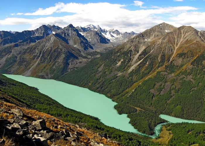 Мультинские озера - в десятке самых интересных достопримечательностей России