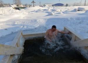 Крещенские купания в Горно-Алтайске
