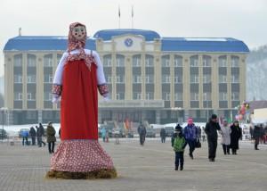 Масленица в Горно-Алтайске