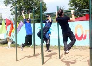 Соревнования по дворовой акробатике прошли в Горно-Алтайске